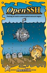 poster do OpenSSH