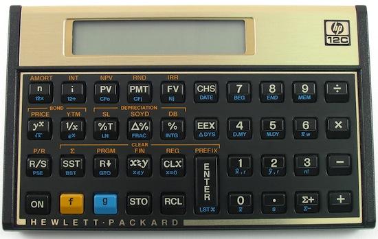 calculadora hp 12c mac