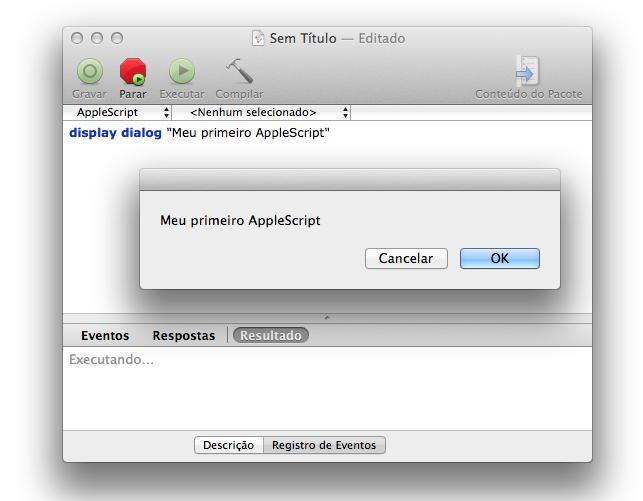 Aprenda AppleScript neste final de semana