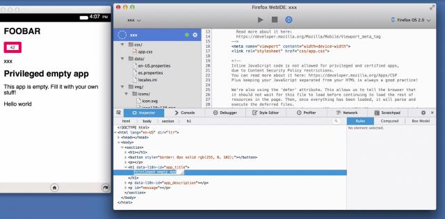 WebIDE: Mozilla coloca no Firefox um ambiente de desenvolvimento de apps web - BR