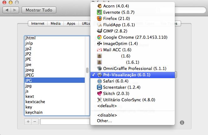 Definindo qual app abre cada extensão de arquivo no Mac, de forma fácil, com o RCDefaultApp