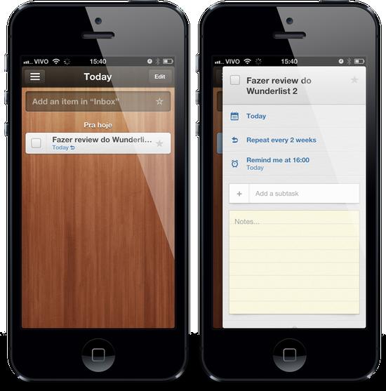 Wunderlist 2: melhor app de lista de tarefas agora tem